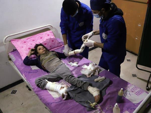 ظهور أعراض لاستخدام غاز الكلور بعد انفجار بالغوطة