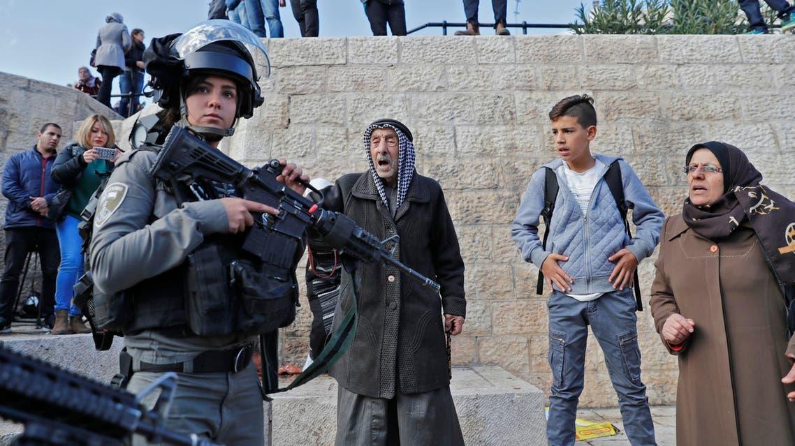 الشرطة الإسرائيلية في القدس المحتلة