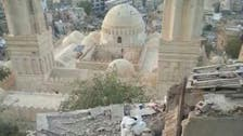 Houthi shelling damages historical mosque in Taiz