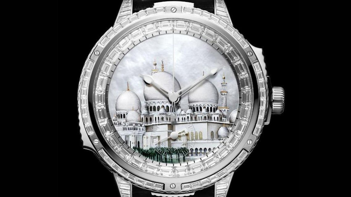 Sheikh zayed watch. (Watch Time)