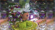 Dubai unveils record-breaking Mickey Mouse statue made of 100,000 flowers