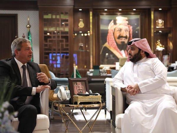 آل الشيخ يستقبل وزير الرياضة والشباب في مصر