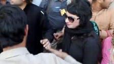 پاکستان کی حکمران جماعت کے جلسے میں خاتون کے ساتھ بدسلوکی