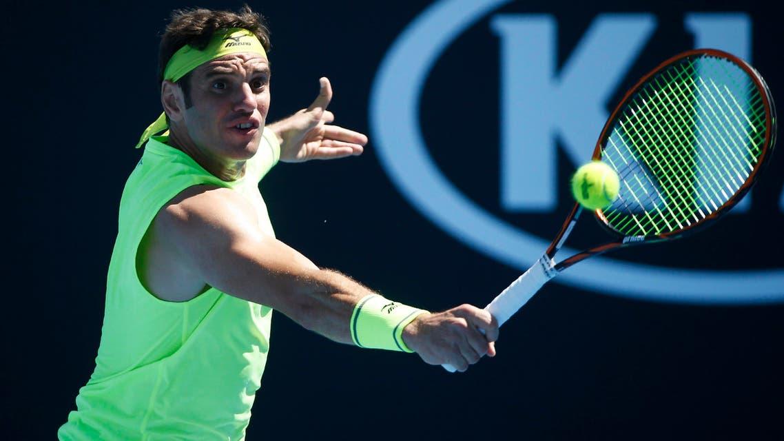 malek jaziri tunisia tennis. (Reuters)
