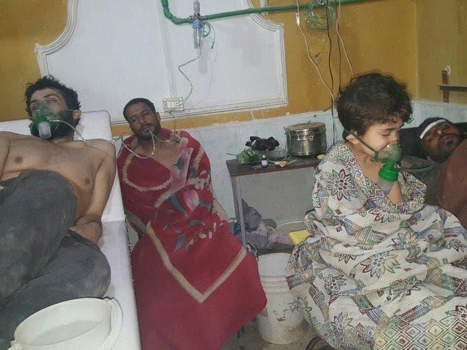 من هجوم الكيماوي في الغوطة