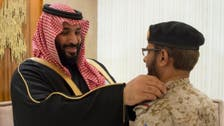 Saudi Crown Prince receives newly promoted military officers