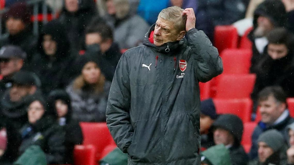 Arsenal manager Arsene Wenger looks dejected. (Reuters)