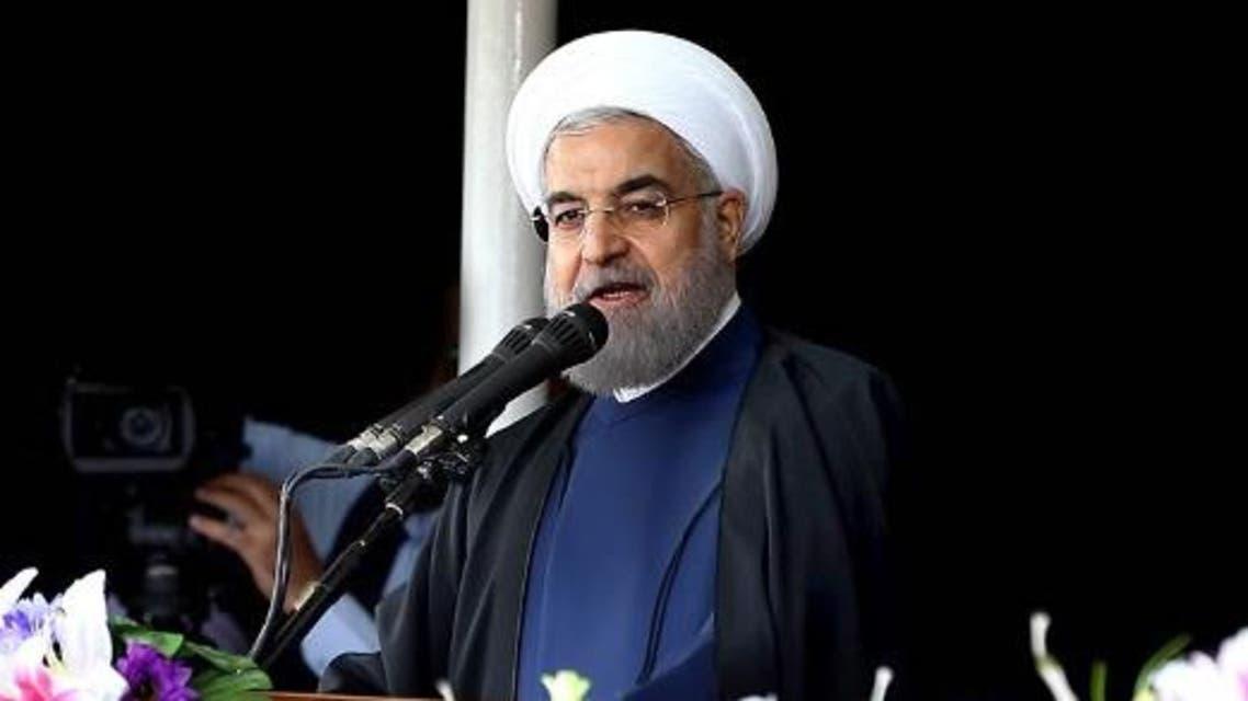 """الرئيس الإيراني حسن روحاني في """"بندر عباس"""""""