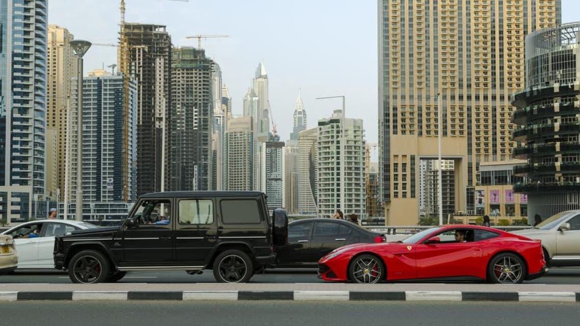 Traffic Dubai Marina March 18 - Shutterstock
