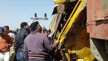 مصر : صوبہ البحیرہ  میں دو ٹرینوں میں تصادم ، 20 افراد ہلاک