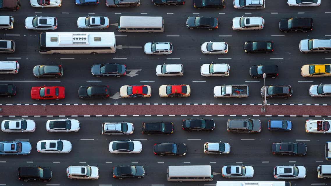 (Shutterstock) Dubai traffic jam