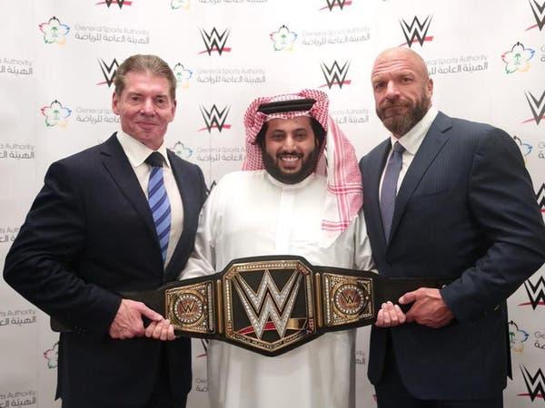 آل الشيخ يوقع اتفاقية WWE لمدة 10 سنوات