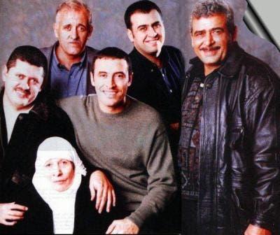 کاظم الساهر با ماىر و برادران خود