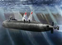 غواصة أميركية تحمل صواريخ باليستية SSBN