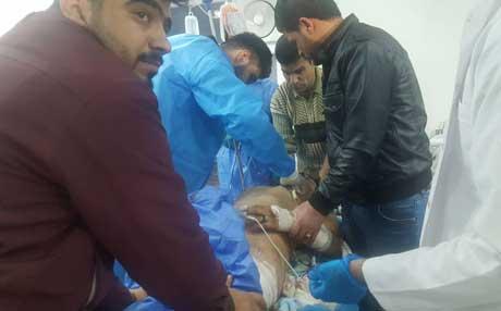 فرزند صلاح رحمانی در انفجار دو پایش را از دست داد