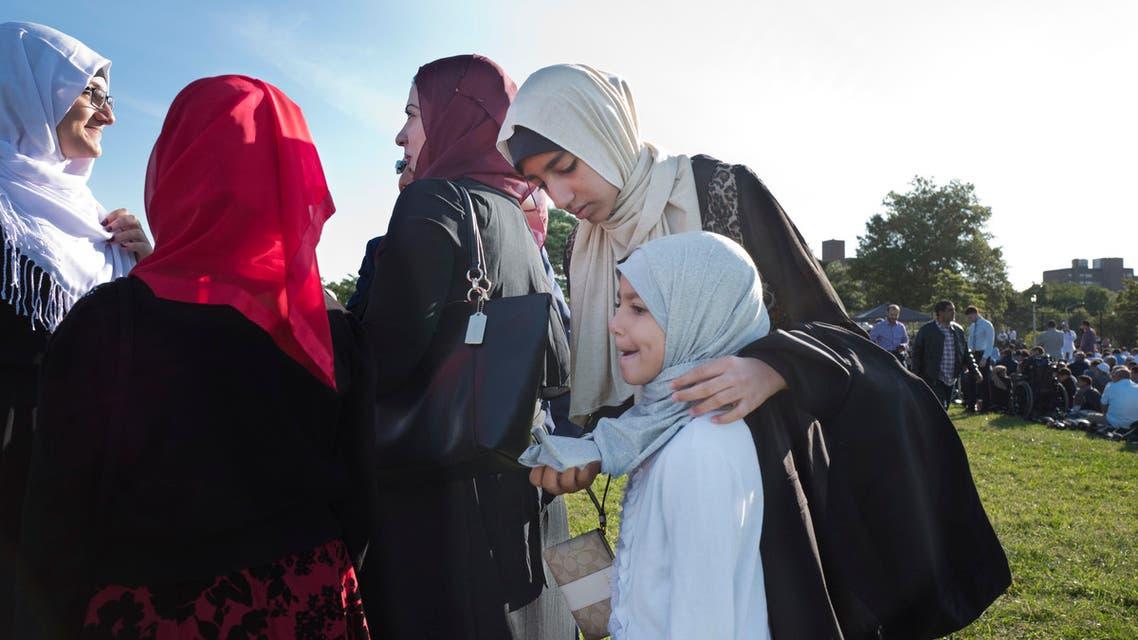 نساء يرتدين الحجاب في نيويورك