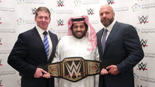 Saudi Arabia signs 10-year contract with WWE