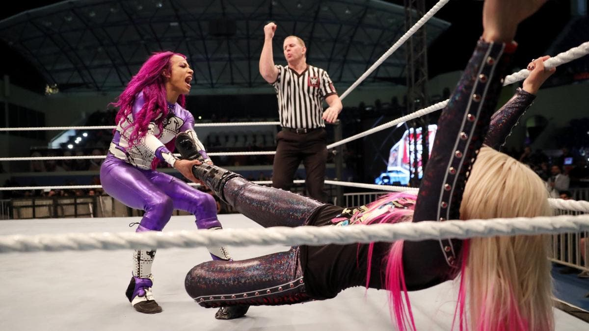 WWE Superstar Sasha Banks on breaking down barriers for women