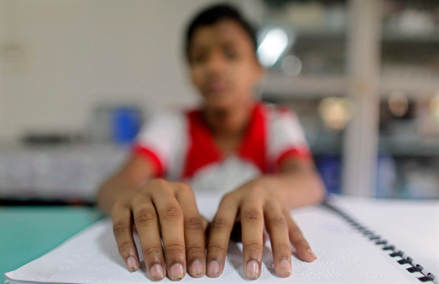 Currently, 815,000 people with disabilities get a monthly allowance from the government. (Reuters)