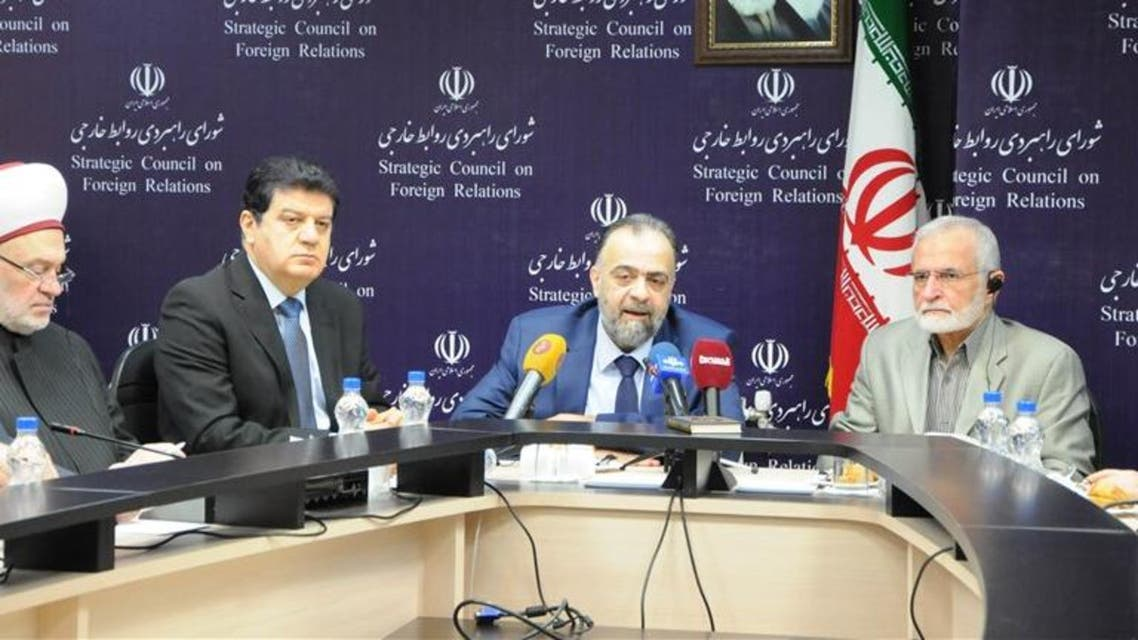 لقاء كمال خرازي ووزير الأوقاف السّوري
