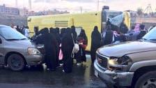 انقلاب حافلة في عسير.. وإصابة 15 طالبة