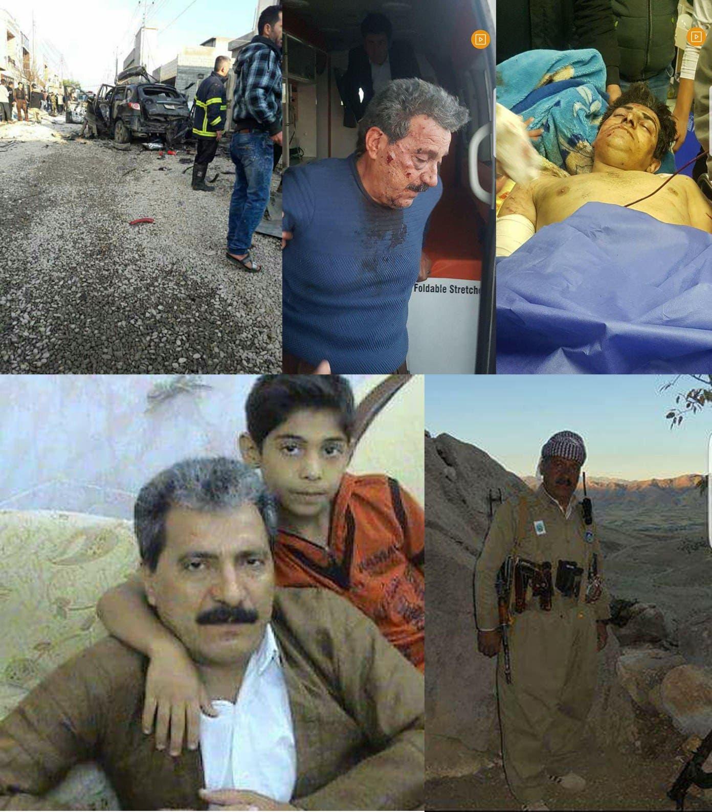 صباح رحماني وابنه القتيل صلاح والسيارة المفخخة