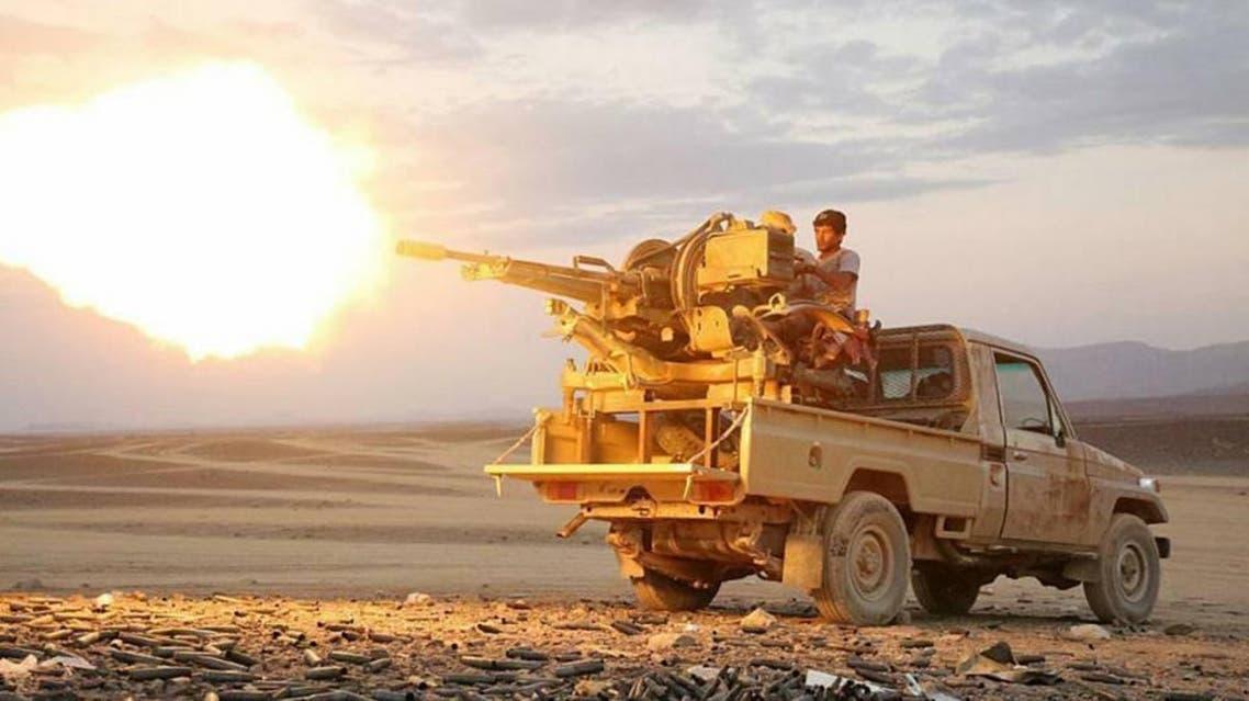 الجيش اليمني في هران أرحب