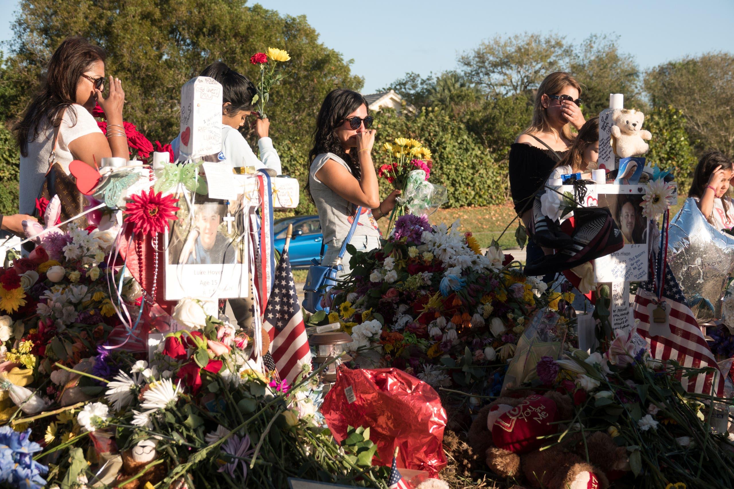 Florida shooting. (Reuters)