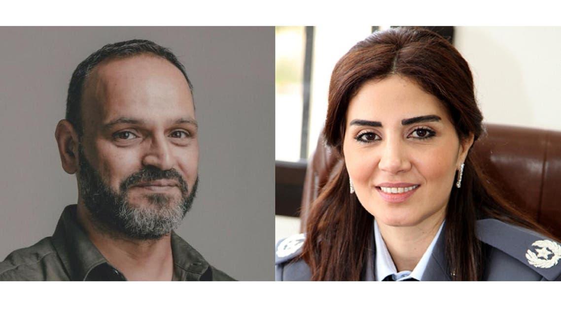 المقدّم سوزان الحاج والممثل زياد عيتاني