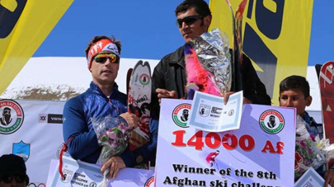پیروزی افغانستان در مسابقات اسکی در مقابل بریتانیا و امریکا