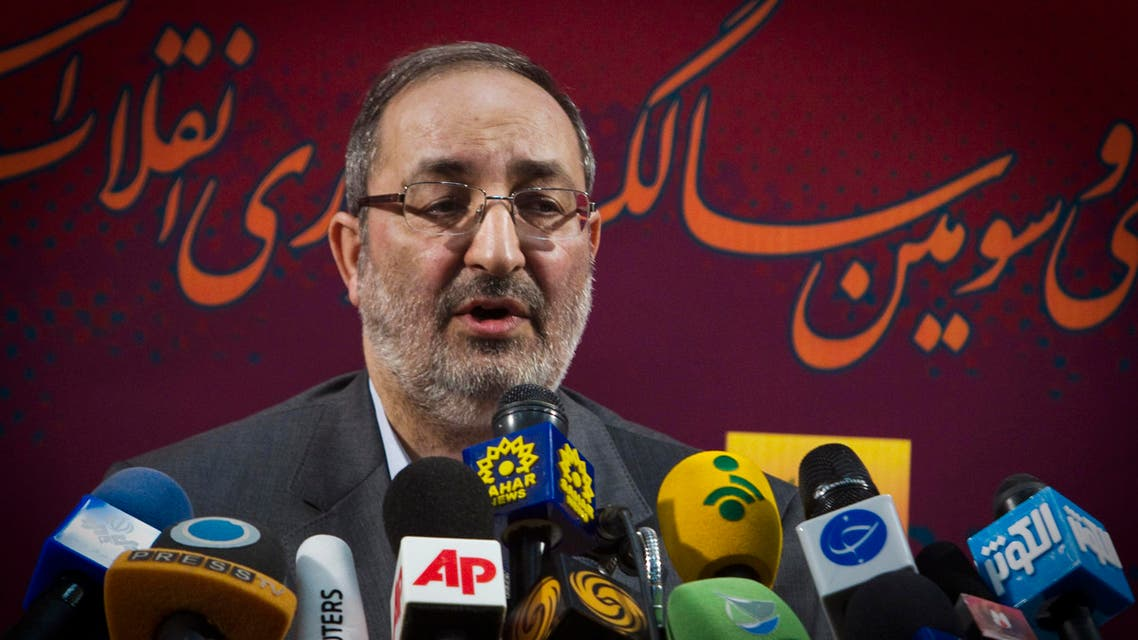 Spokesman for Iran's Joint Armed Forces Staff Masoud Jazayeri speaks during a news conference in Tehran January 30, 2012. REUTERS/Raheb Homavandi (IRAN - Tags: POLITICS MILITARY)