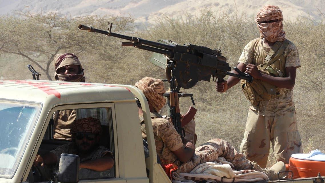 مقاتلون موالون للشرعية اليمنية