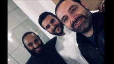 Selfie shows Saudi Crown Prince and Lebanese PM Hariri in Riyadh