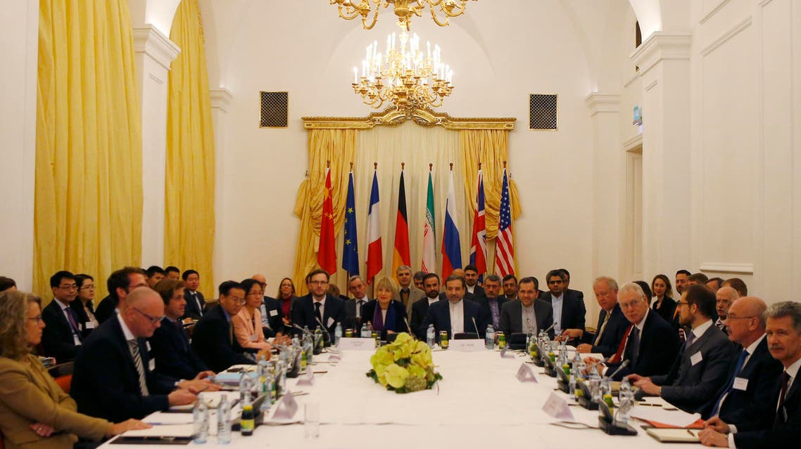 A meeting of joint commission tasked with monitoring the implementation of nuclear deal between Iran and six world powers in Vienna on December 7, 2015. (Reuters)