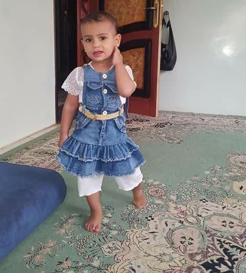 الطفلة غفران التي قتلتها رصاصة حوثية