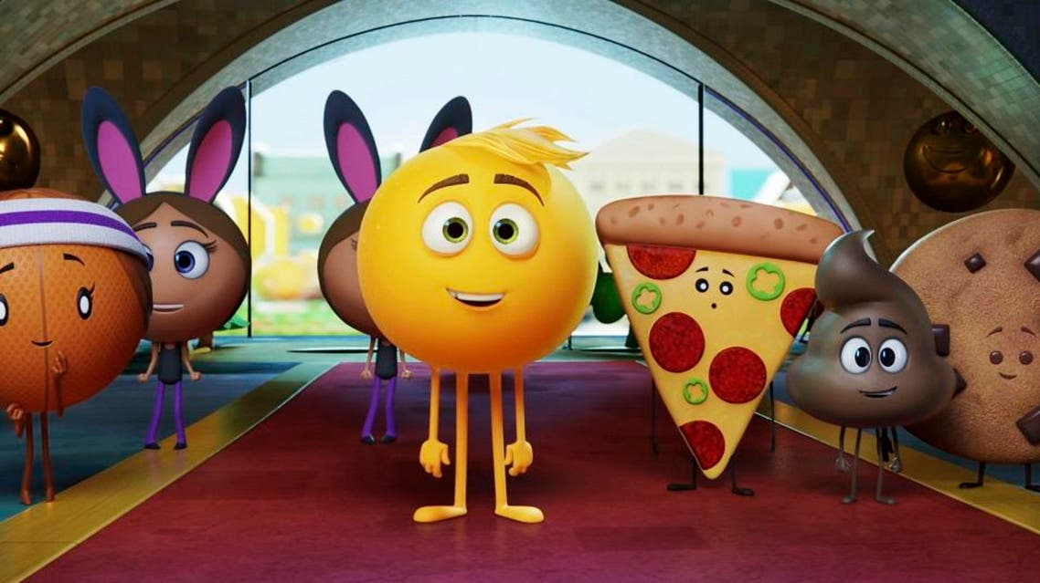"""""""The Emoji Movie"""" has received Hollywood's most famous frown, the Razzie Award, for worst picture of 2017. (Sony Pictures Animation via AP)"""