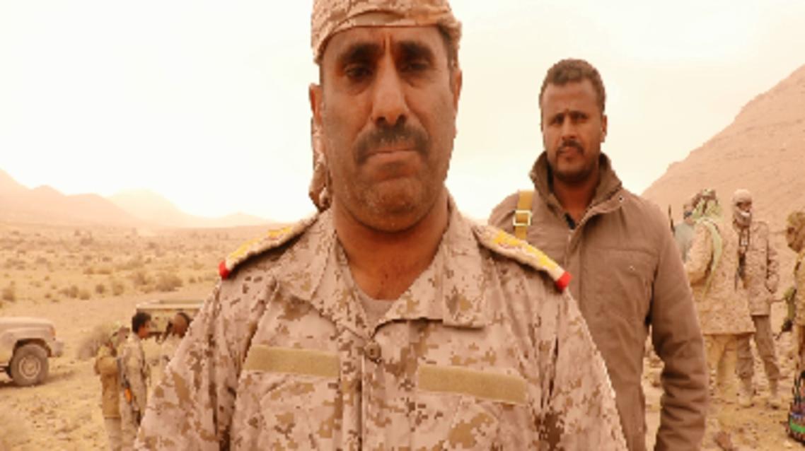 أركان حرب المنطقة العسكرية السابعة في اليمن العميد عبدالله معزب
