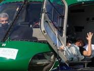 نيمار يغادر المستشفى على متن طائرة مروحية