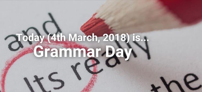 اليوم الوطني لقواعد اللغة