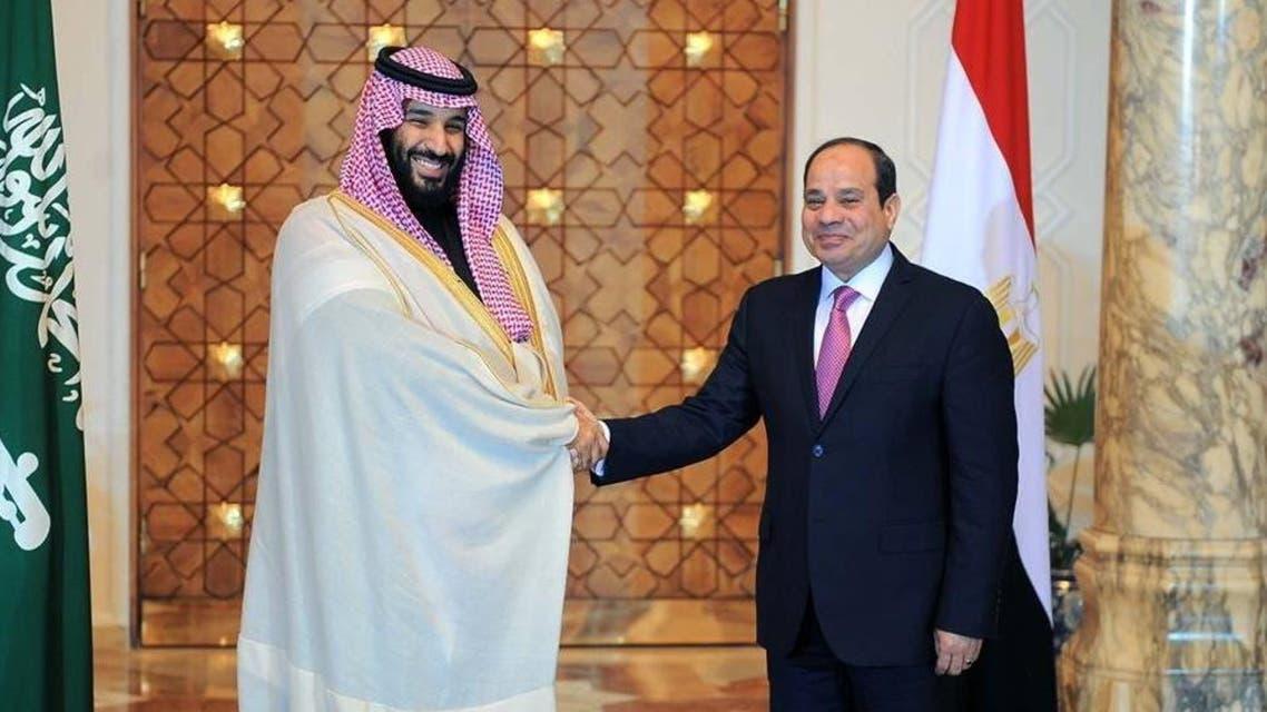 السيسي ومحمد بن سلمان الحدث