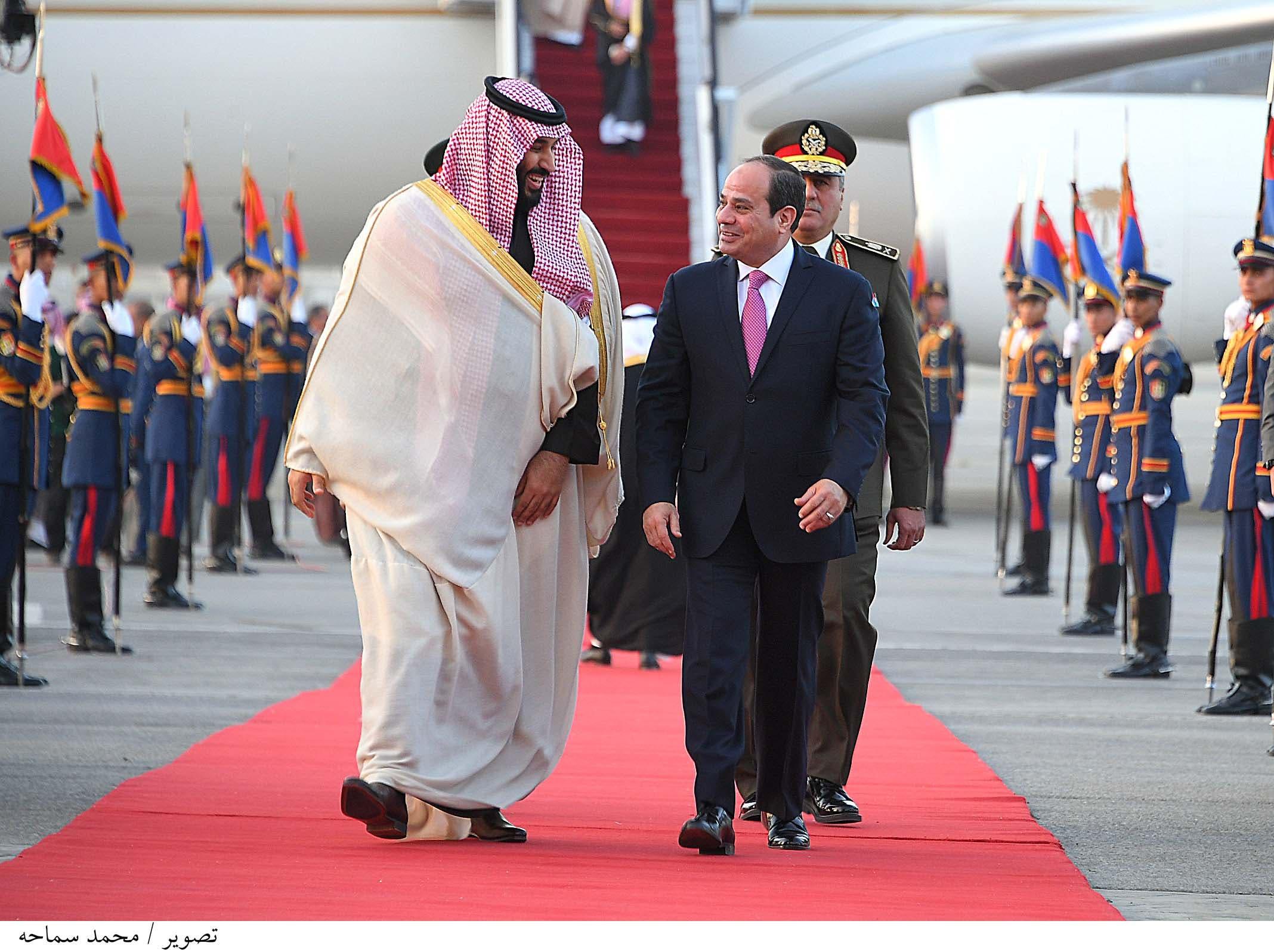 ولي العهد السعودي والسيسي