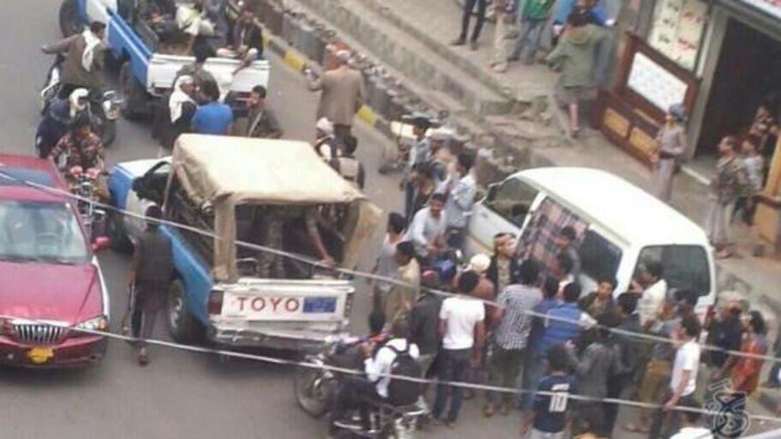 اعتقالات حوثية واعتداءات على مواطنين يطالبون بالغاز المنزلي في صنعاء