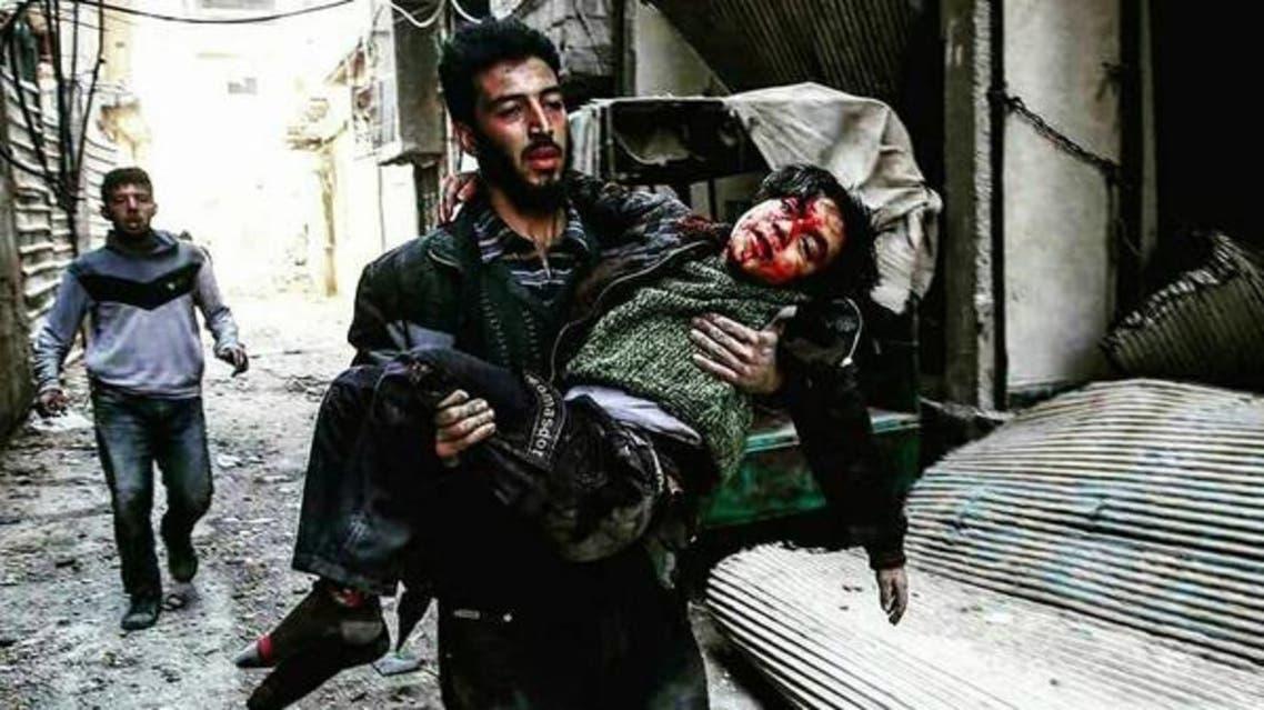 تلاش فرانسه و سازمان ملل برای به اجرا در آوردن قطعنامه آتشبس در غوطه شرقی