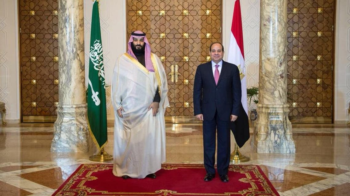 Saudi crown prince lands in Egypt as part of foreign tour
