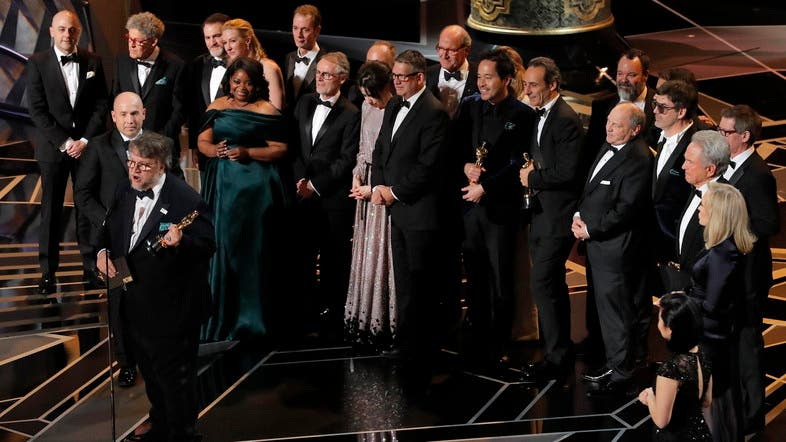 Image result for oscar 2018 winners shape of water