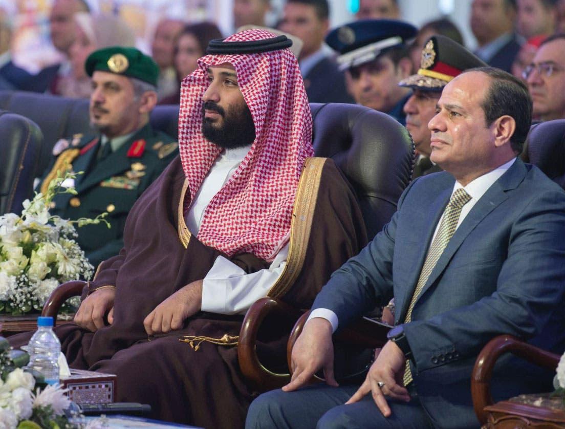 محمد بن سلمان والسيسي