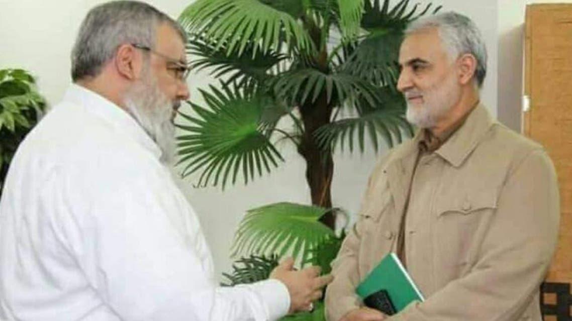 قاسم سليماني وحسن نصرالله
