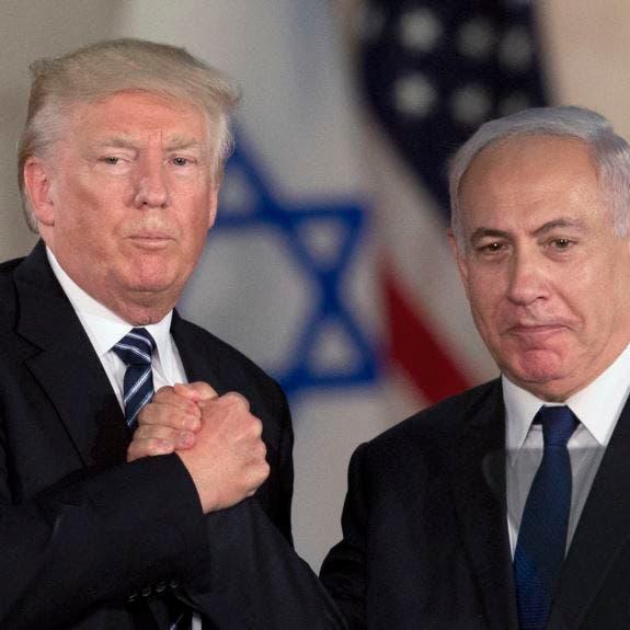 ترمب يدعو للاعتراف الكامل بسيادة إسرائيل على الجولان