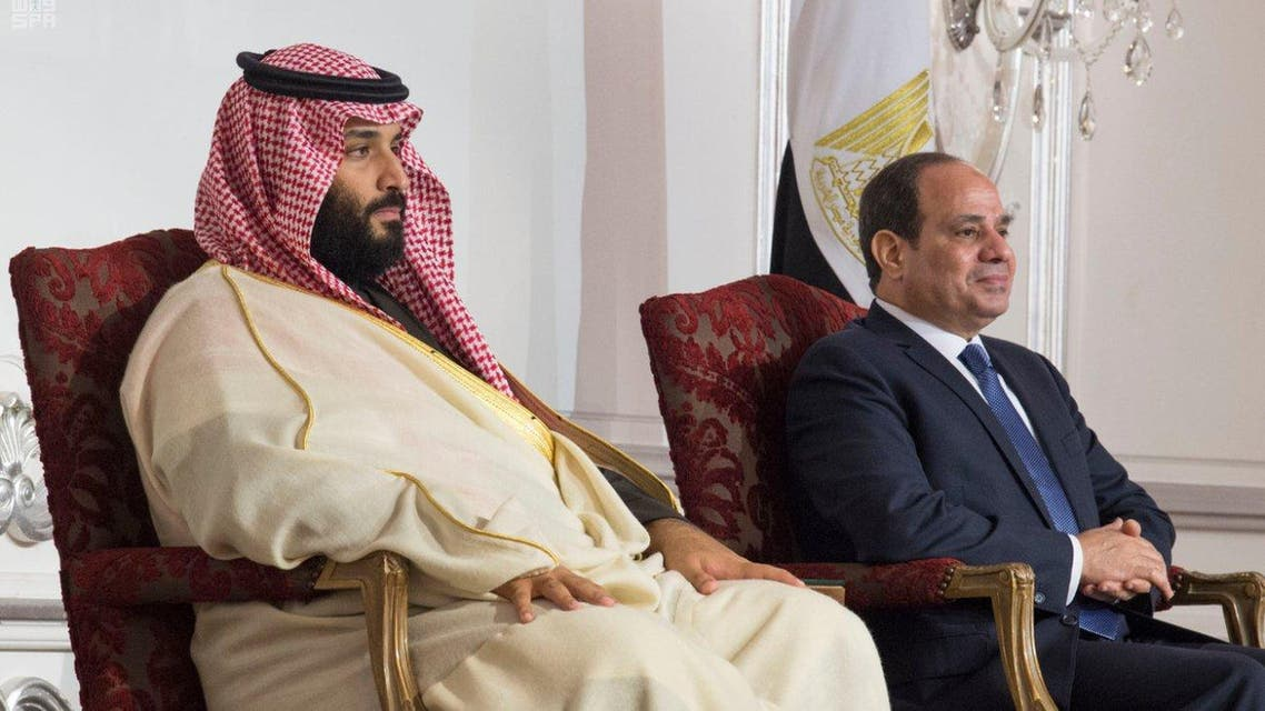 Saudi crown prince, Egypt's Sisi oversee signing of three deals, investment MoUs