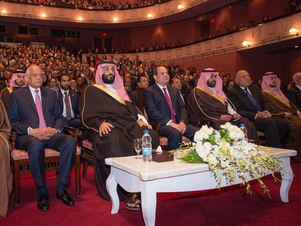 محمد بن سلمان والسيسي يحضران عرضا مسرحيا بدار الأوبرا